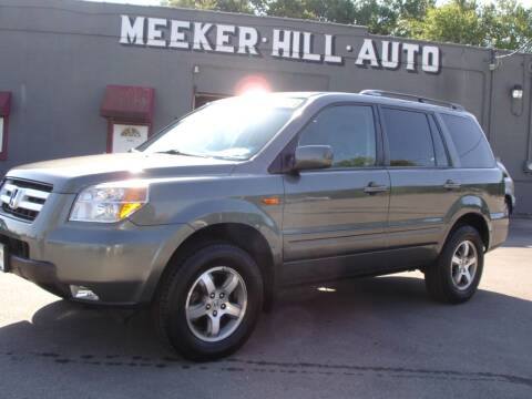 2007 Honda Pilot for sale at Meeker Hill Auto Sales in Germantown WI
