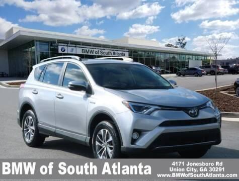2018 Toyota RAV4 Hybrid for sale at Carol Benner @ BMW of South Atlanta in Union City GA