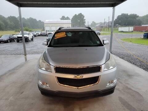 2009 Chevrolet Traverse for sale at Auto Guarantee, LLC in Eunice LA