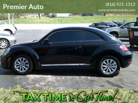 2013 Volkswagen Beetle for sale at Premier Auto in Independence MO