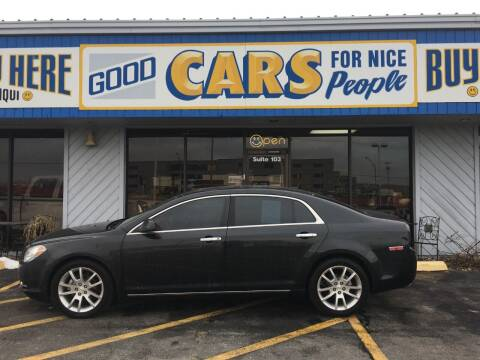 2010 Chevrolet Malibu for sale at Good Cars 4 Nice People in Omaha NE