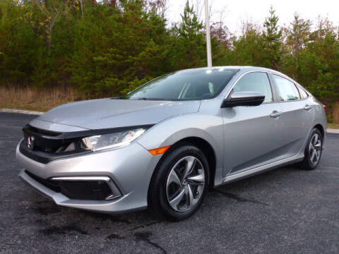 2019 Honda Civic for sale at RUSTY WALLACE KIA OF KNOXVILLE in Knoxville TN