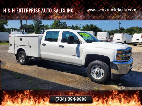 2015 Chevrolet Silverado 2500HD for sale at H & H Enterprise Auto Sales Inc in Charlotte NC