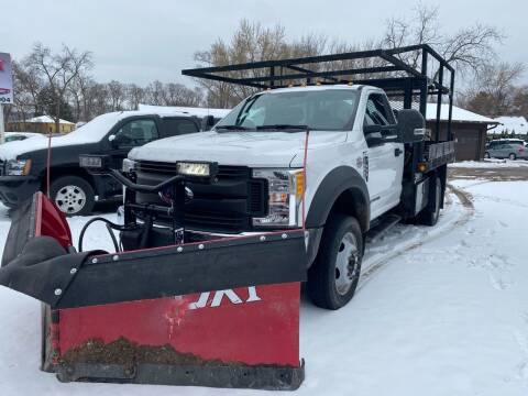 2017 Ford F-550 Super Duty for sale at Toy Box Auto Sales LLC in La Crosse WI