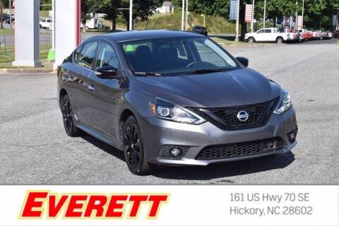 2018 Nissan Sentra for sale at Everett Chevrolet Buick GMC in Hickory NC