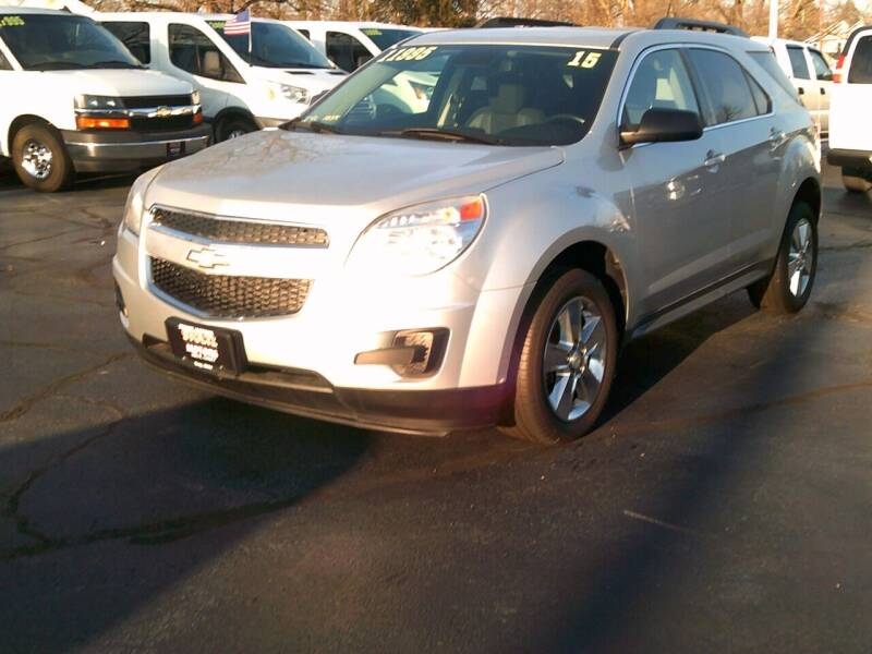 2015 Chevrolet Equinox for sale at Stoltz Motors in Troy OH