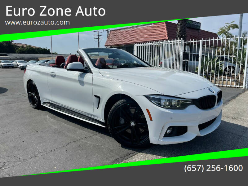 2018 BMW 4 Series for sale at Euro Zone Auto in Stanton CA