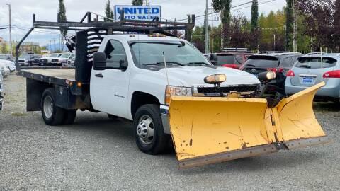 2012 Chevrolet Silverado 3500HD for sale at United Auto Sales in Anchorage AK