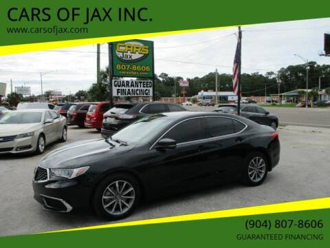 2018 Acura TLX for sale at CARS OF JAX INC. in Jacksonville FL