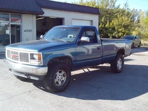 1992 GMC Sierra 2500 for sale at Settle Auto Sales TAYLOR ST. in Fort Wayne IN