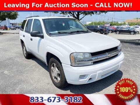 2008 Chevrolet TrailBlazer for sale at Glenbrook Dodge Chrysler Jeep Ram and Fiat in Fort Wayne IN