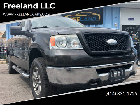 2006 Ford F-150 for sale at Freeland LLC in Waukesha WI