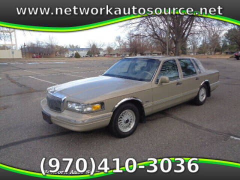 1996 Lincoln Town Car for sale at Network Auto Source in Loveland CO