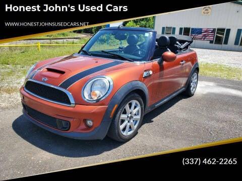 2015 MINI Convertible for sale at Honest John's Used Cars in Deridder LA