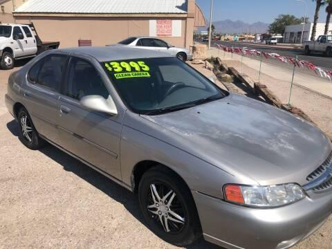 2000 Nissan Altima for sale at Senor Coche Auto Sales in Las Cruces NM