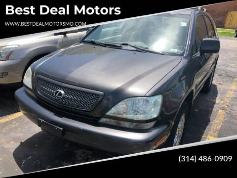 2002 Lexus RX 300 for sale at Best Deal Motors in Saint Charles MO