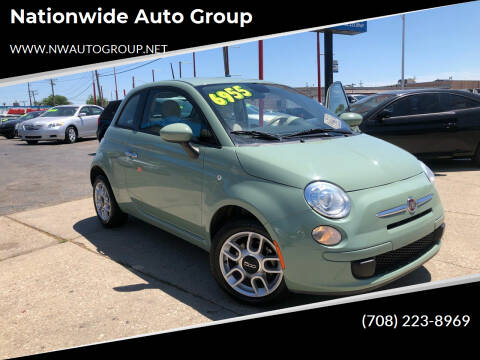 2015 FIAT 500 for sale at Nationwide Auto Group in Melrose Park IL