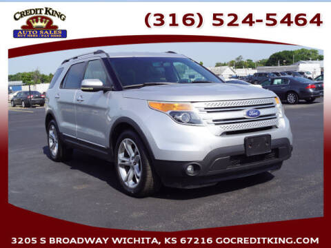 2011 Ford Explorer for sale at Credit King Auto Sales in Wichita KS