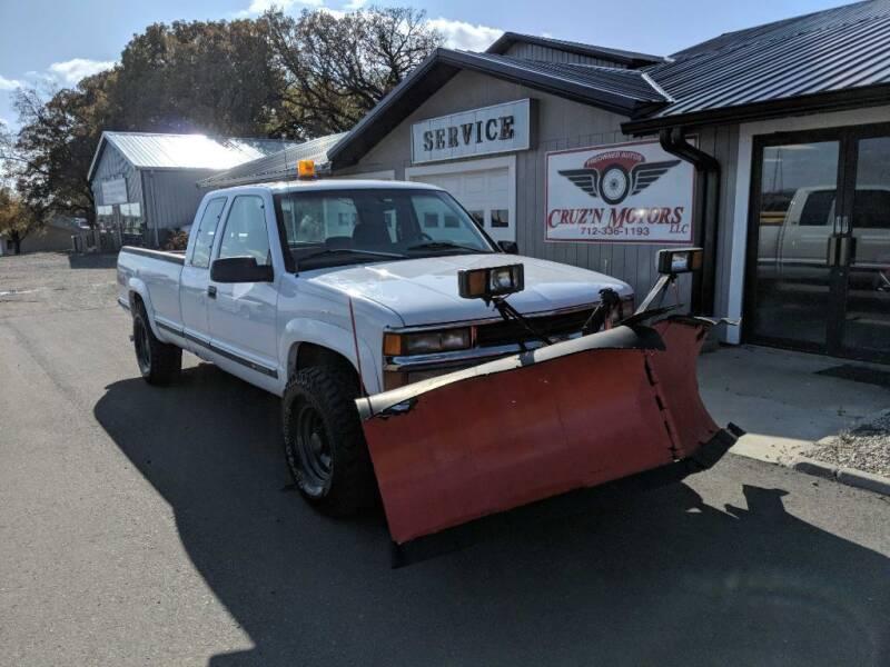 1997 Chevrolet C/K 2500 Series for sale at CRUZ'N MOTORS in Spirit Lake IA