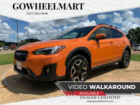 2019 Subaru Crosstrek for sale at GOWHEELMART in Leesville LA
