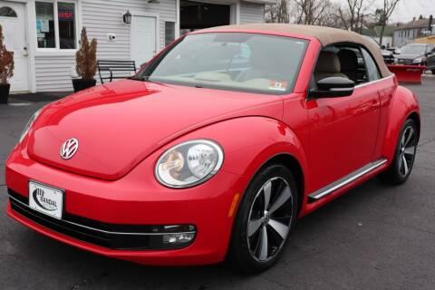 2013 Volkswagen Beetle Convertible for sale at Randal Auto Sales in Eastampton NJ