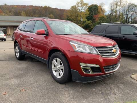 2013 Chevrolet Traverse for sale at WENTZ AUTO SALES in Lehighton PA