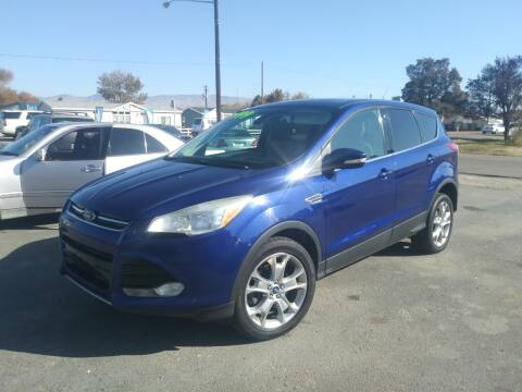 2013 Ford Escape for sale at Marvelous Motors in Garden City ID
