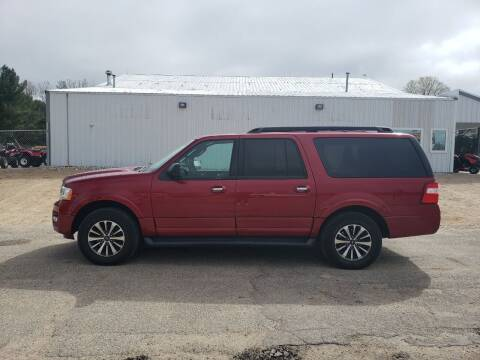 2016 Ford Expedition EL for sale at Steve Winnie Auto Sales in Edmore MI