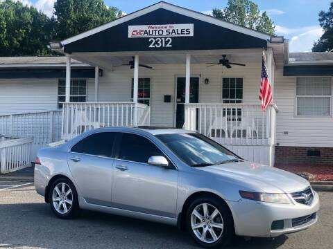 2005 Acura TSX for sale at CVC AUTO SALES in Durham NC
