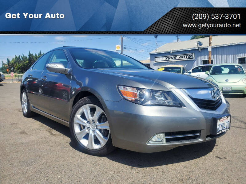 2009 Acura RL for sale in Ceres, CA