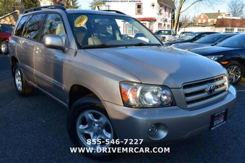 2007 Toyota Highlander for sale at Mr. Car City in Brentwood MD