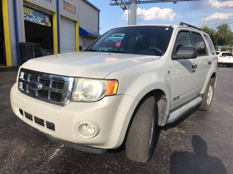 2008 Ford Escape for sale at RoMicco Cars and Trucks in Tampa FL