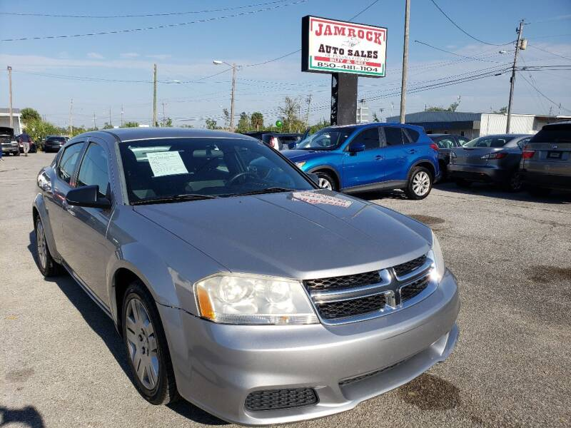 2014 Dodge Avenger for sale at Jamrock Auto Sales of Panama City in Panama City FL