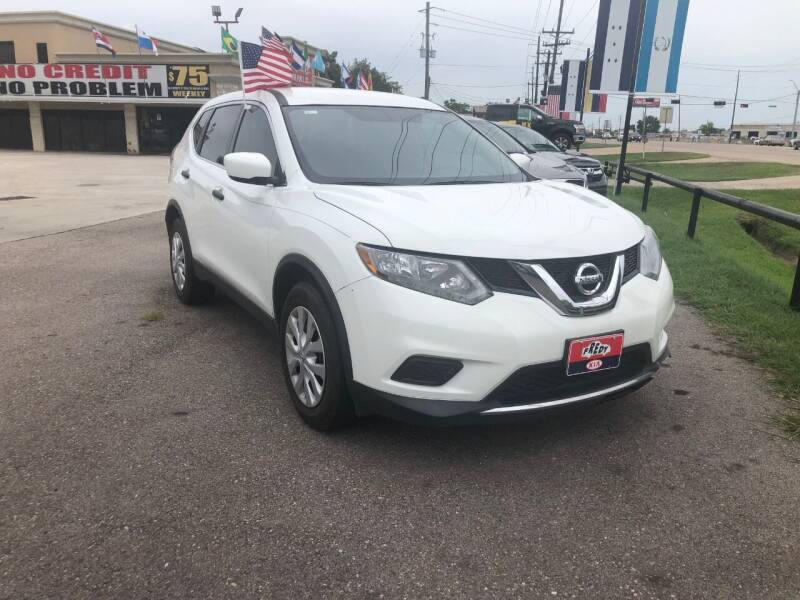 2016 Nissan Rogue for sale at FREDY CARS FOR LESS in Houston TX