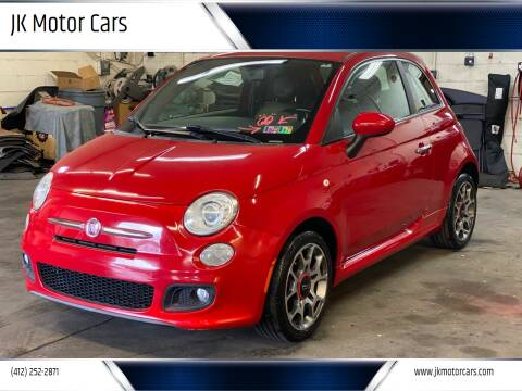 2012 FIAT 500 for sale at JK Motor Cars in Pittsburgh PA