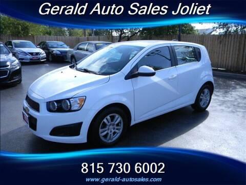 2016 Chevrolet Sonic for sale at Gerald Auto Sales in Joliet IL