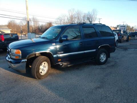 2003 GMC Yukon for sale at E & K Automotive in Derry NH