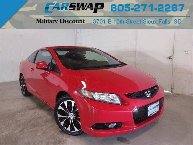 2013 Honda Civic for sale at CarSwap in Sioux Falls SD