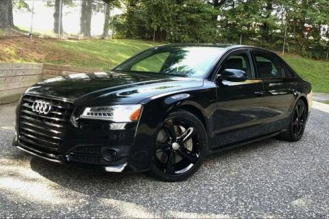 2018 Audi A8 L for sale at TRUST AUTO in Sykesville MD