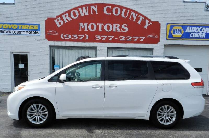 2011 Toyota Sienna for sale at Brown County Motors in Russellville OH