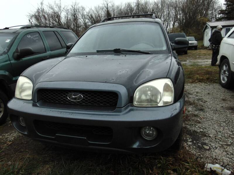 2002 Hyundai Santa Fe for sale at New Start Motors LLC - Rockville in Rockville IN