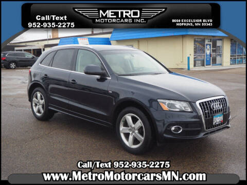 2012 Audi Q5 for sale at Metro Motorcars Inc in Hopkins MN