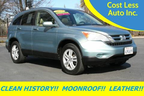 2010 Honda CR-V for sale at Cost Less Auto Inc. in Rocklin CA