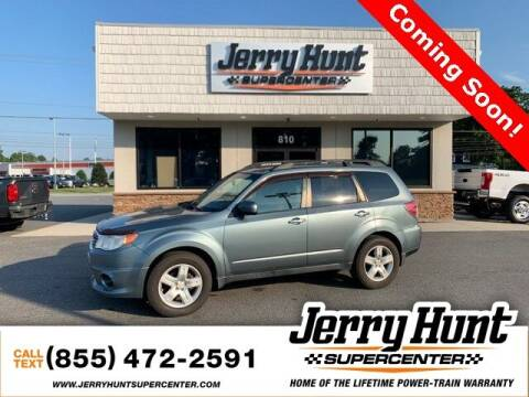 2010 Subaru Forester for sale at Jerry Hunt Supercenter in Lexington NC