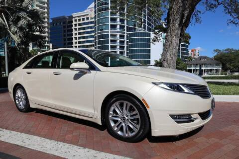 2014 Lincoln MKZ Hybrid for sale at Choice Auto in Fort Lauderdale FL