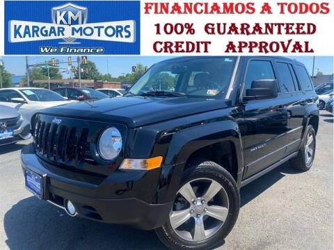 2017 Jeep Patriot for sale at Kargar Motors of Manassas in Manassas VA