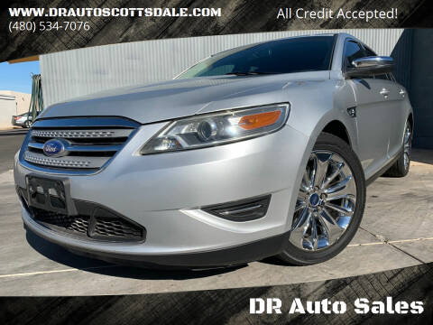 2012 Ford Taurus for sale at DR Auto Sales in Scottsdale AZ