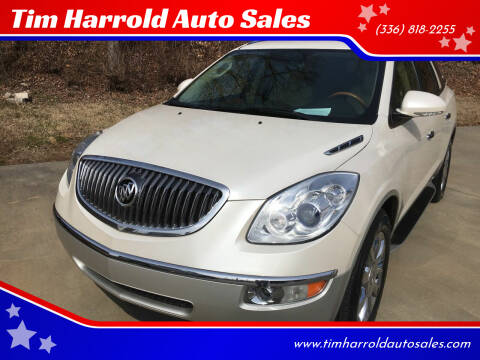 2012 Buick Enclave for sale at Tim Harrold Auto Sales in Wilkesboro NC