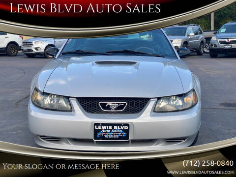 2002 Ford Mustang for sale at Lewis Blvd Auto Sales in Sioux City IA