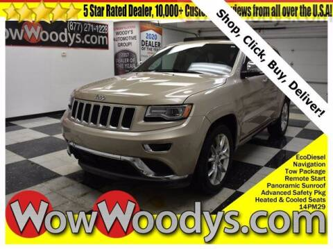 2014 Jeep Grand Cherokee for sale at WOODY'S AUTOMOTIVE GROUP in Chillicothe MO